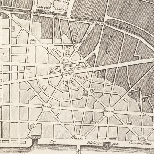 Christopher Wren's rebuilding plan
