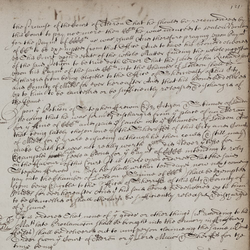 Common Council meeting minutes 26 September 1666