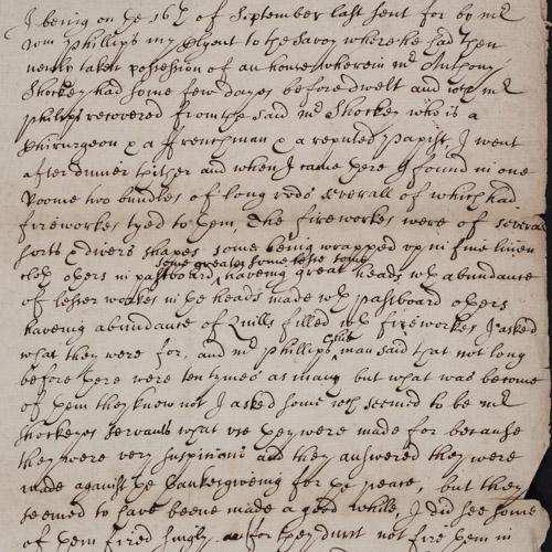 Robert Goddard's witness statement