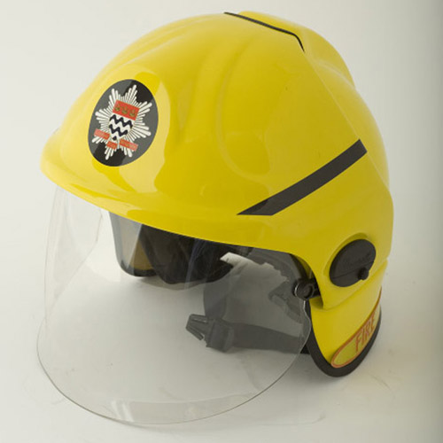 Modern firefighting helmet