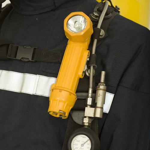 Modern firefighter's torch