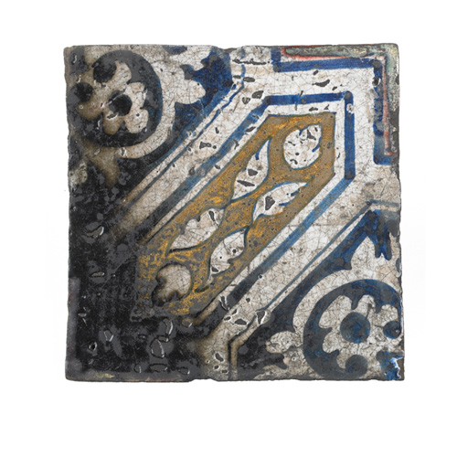 Floor tiles found near Pudding Lane