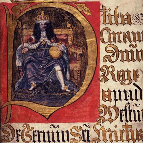 Portait of King Charles II
