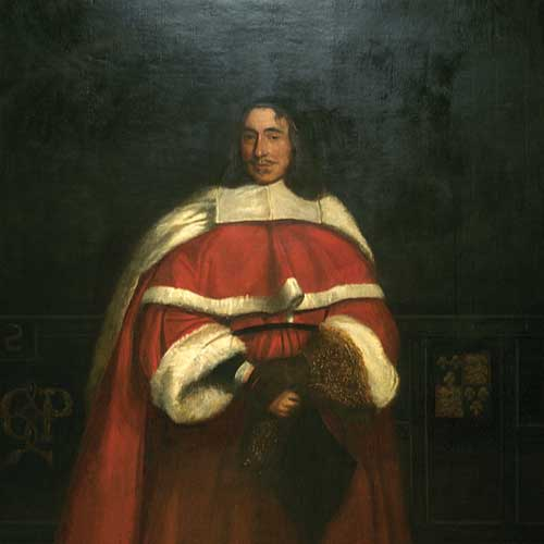 Painting: 'Sir Hugh Wyndham, Judge of the Common Pleas', 1670